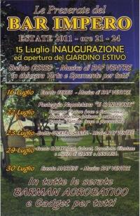 """22 luglio 2011 - Posteggia napoletana """"E SANACORE"""""""