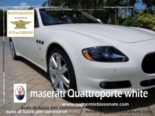MASWERATI QUATTROPORTE DUO SELECT BIANCA