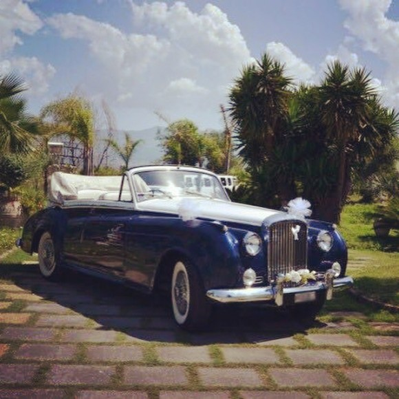 Bentley S1 Cabriolet del 1958 bicolore