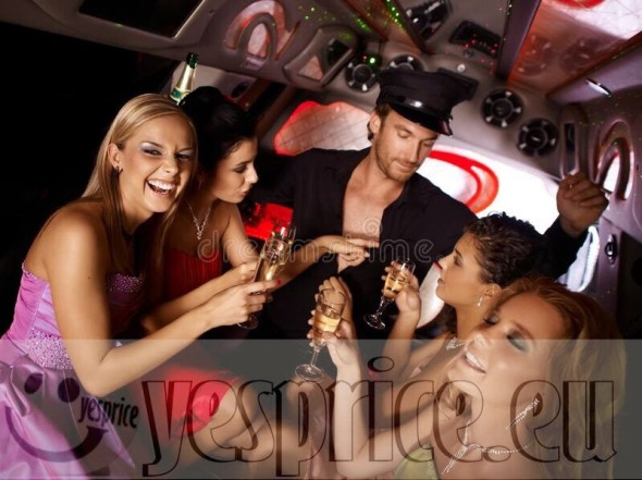 LIMOUSINE LINCOLN PARTY CAMPANIA 1 ORA €250   clicca qui