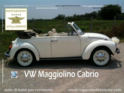 VW MAGGIOLINO CABRIOLET