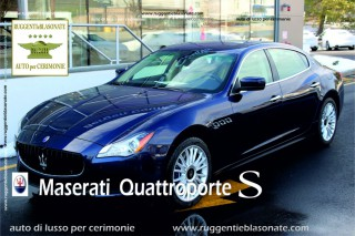 MASERATI QUATTROPORTE NEW MODEL BLU