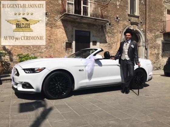 CAMPANIA  MUSTANG GT 5.0 CABRIOLET 4 POSTI - € 800 CON AUTISTA - €1000 SENZA AUTISTA
