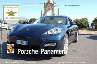 PORSCHE PANAMERA BLU
