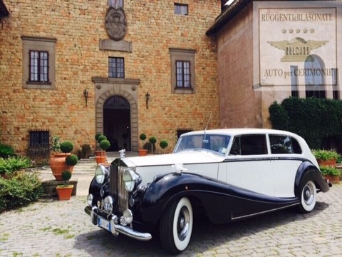 ROLLS ROYCE PHANTOM 1948 BICOLORE