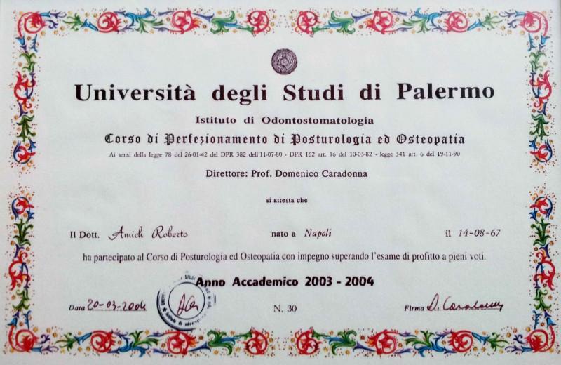 certificato di laurea unipa