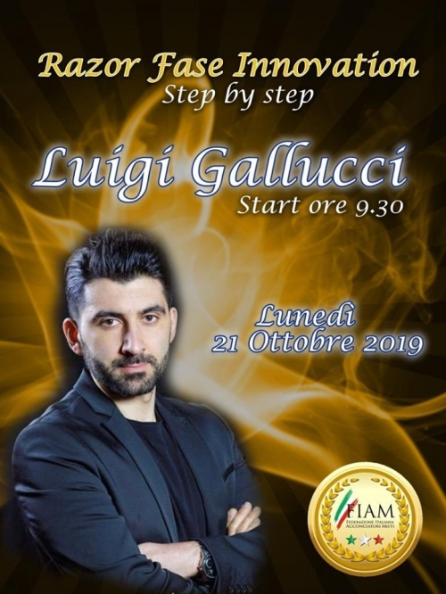 "Luigi Galluccio special guest to ""Razor Style Innovation"""