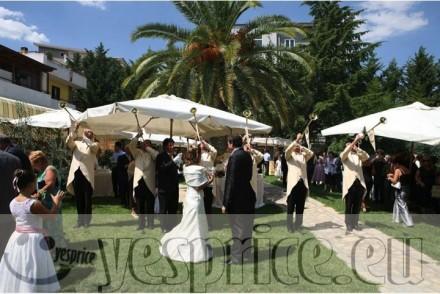 code WEDRIC81 - RICEVIMENTO HOTEL WEDDING CERIMONIE DI LUSSO BASILICATA - POTENZA - VENOSA - Banchetti a partire da €80