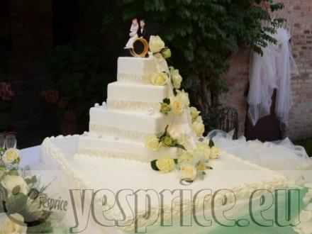 code WEDTOR34 - TORTE E CONFETTI WEDDING CERIMONIE DI LUSSO EMILIA ROMAGNA - BOLOGNA - VALSAMOGGIA - Prodotti a partire da €70