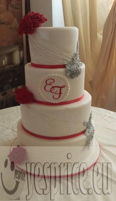 code WEDTOR38 - TORTE E CONFETTI WEDDING CERIMONIE DI LUSSO LIGURIA - GENOVA - Prodotti a partire da €50