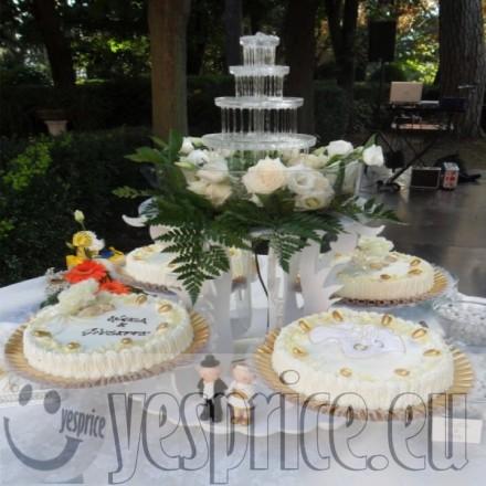 code WEDTOR40 - TORTE E CONFETTI WEDDING CERIMONIE DI LUSSO LIGURIA - GENOVA - Prodotti a partire da €200