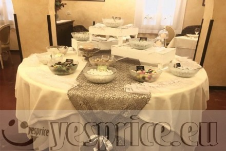 code WEDRIC56 - RICEVIMENTO HOTEL WEDDING CERIMONIE DI LUSSO VENETO - VENEZIA - QUARTO D'ALTINO - Banchetti a partire da €80