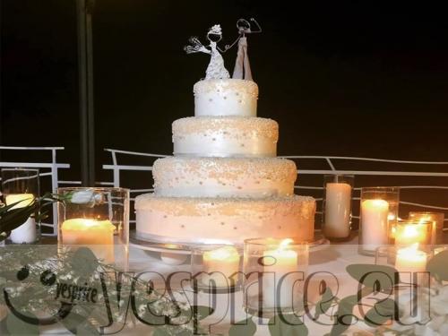 LA PASTICCERIA FALCONE - TORTE E CONFETTI WEDDING CERIMONIE DI LUSSO PUGLIA - FOGGIA - VIESTE - Prodotti a partire da €70 - code WEDTOR116