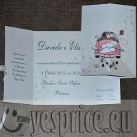code WEDPAR35 - PARTECIPAZIONI WEDDING CERIMONIE DI LUSSO EMILIA ROMAGNA - BOLOGNA - IMOLA - Partecipazioni a partire da €1