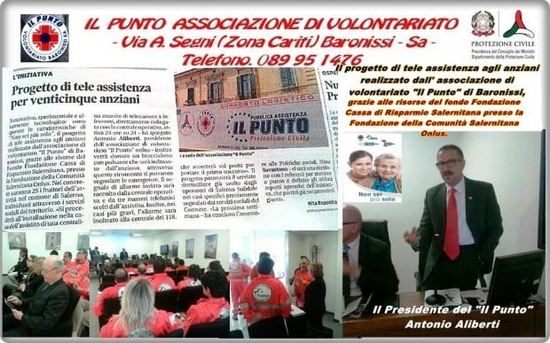 Presentazione progetto il Presidente Antonio Aliberti