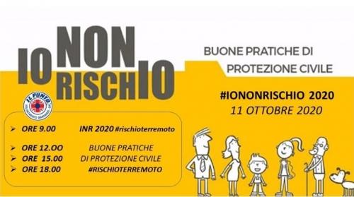 Manca un solo giorno alla Piazza digitale di #IONONRISCHIO2020