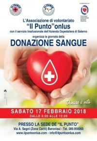Giornata della donazione di sangue