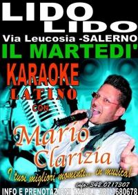 ESTATE 2015 : MARTEDI - MARIO CLARIZIA    KARAOKE & LATINO