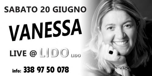 Vanessa Caputo Tre  Live Show al Lido Lido