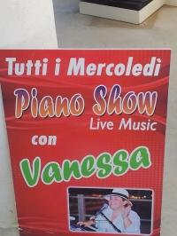VANESSA LIVE SHOW AL LIDO LIDO