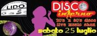 ESTATE  2015 - SERATA DANCE ANNI 70' e 80'  CON  I DISCOINFERNO