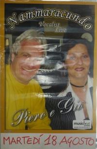 I NAMMARACUNDO CON PIERO E GIO'  AL  LIDO, LIDO SALERNO