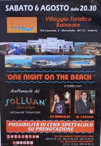 6 AGOSTO ON NIGHT ON THE  BEACH-AL LIDO LIDO