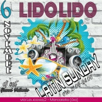 Sunday Latin 6 Novembre   ore 21:00 - 24:00