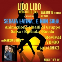 """18 febbraio 2017 - Al lido """"LIDO"""" Serata Latina... e non solo..."""