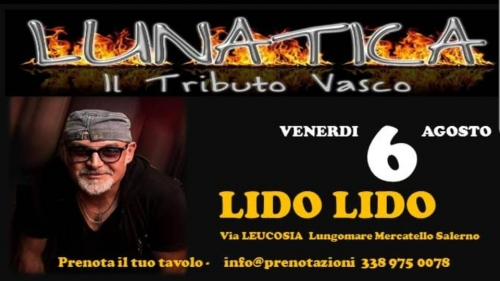 VASCO NON STOP AL LIDO LIDO   TRIBUTE BAND LIVE