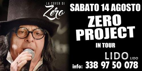 ZERO PROJECT Live cover band AL LIDO LIDO