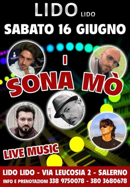 I SONA Mò live music