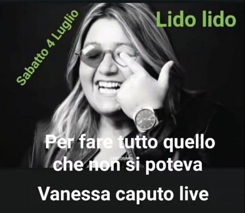 Live Show al Lido Lido con Vanessa