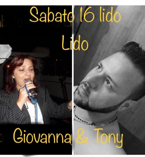 "GIOVANNA & TONY  al Lido ""LIDO"" live show Music"