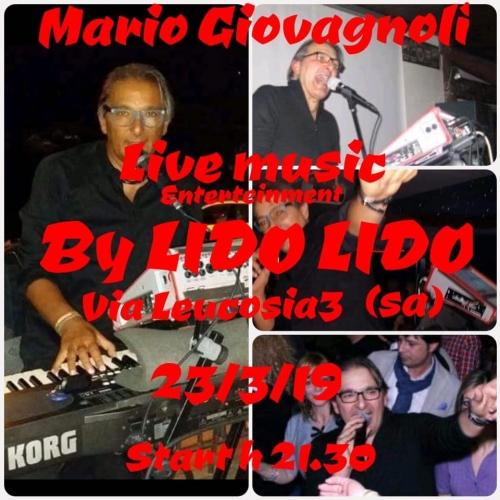"""MARIO GIOVAGNOLI LIVE MUSIC al Lido """"LIDO"""""""