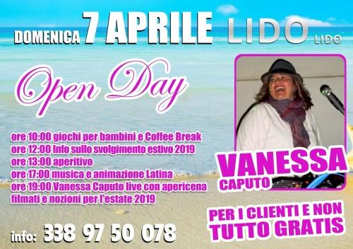 Open Day al Lido Lido CON VANESSA