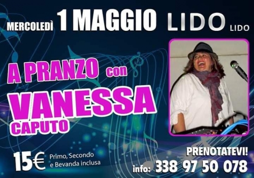 VANESSA LIVE AL LIDO LIDO   1 MAGGIO 2019