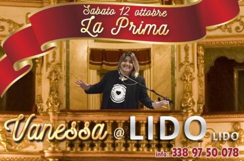 """LA PRIMA -  SABATO 12 OTTOBRE  """" la prima """"con  Vanessa Caputo"""