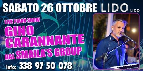 Gino Carannante dal  Smaila's Band  live piano show