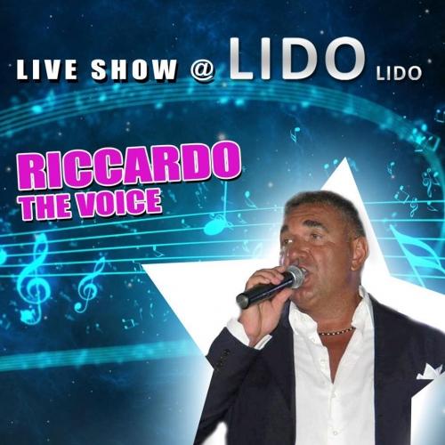 Il live show del Lido Lido Sabato 9 novembre  Riccardo Conforti.- THE VOICE