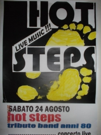 24/08/2013 AL LIDO HOT STEP TRIBUTE BAND ANNI '80