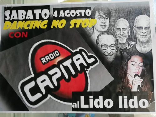 RADIO CAPITAL - DANCING NON STOP AL LIDO LIDO