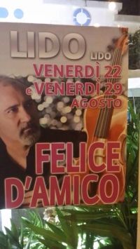 Felice D'Amico AL LIDO LIDO - Il violinista più pazzo del mondo
