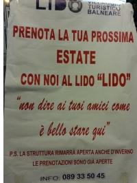 """PRENOTA la tua prossima estate 2014 con noi al lido """" LIDO"""" inviaci una E-mail info@noilidolidosalerno.it"""