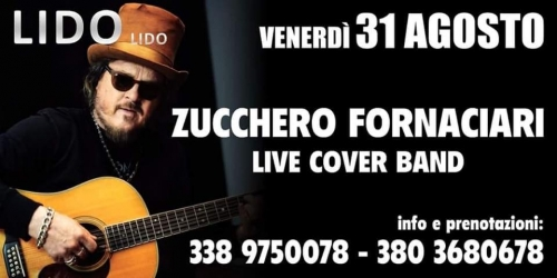 ZUCCHERO Live cover band  AL LIDO LIDO