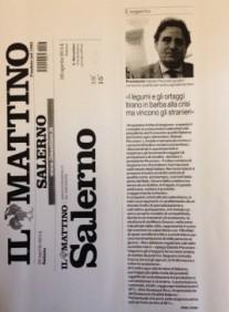 IL MATTINO - Articolo scritto dal giornalista Marco Mazzeo