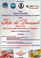 Festa del decennale di attività del Consorzio QS - Qualità Salerno