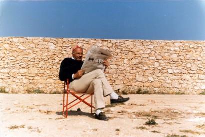 Carlo Verderese a Lampedusa