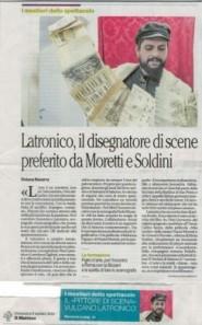 Il bravissimo Domenico Latronico - Scenografo
