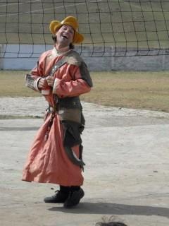 Vania Clown in Mongolia